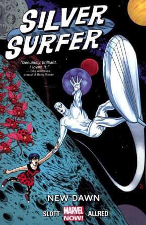 SILVER SURFER VOLUME 1 NEW DAWN GRAPHIC NOVEL