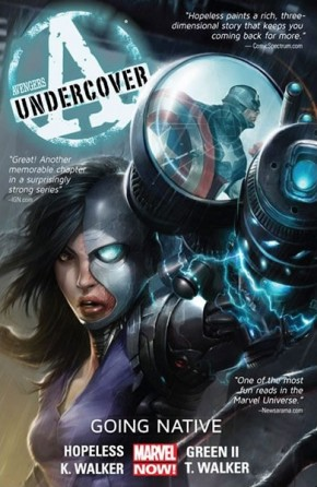 AVENGERS UNDERCOVER VOLUME 2 GOING NATIVE GRAPHIC NOVEL