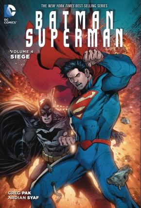 BATMAN SUPERMAN VOLUME 4 SIEGE HARDCOVER