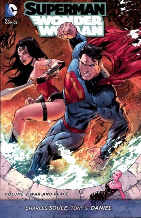 SUPERMAN WONDER WOMAN VOLUME 2 WAR AND PEACE GRAPHIC NOVEL