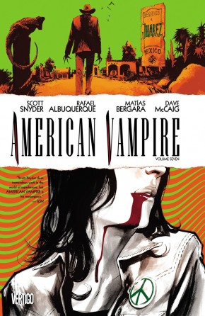 AMERICAN VAMPIRE VOLUME 7 GRAPHIC NOVEL