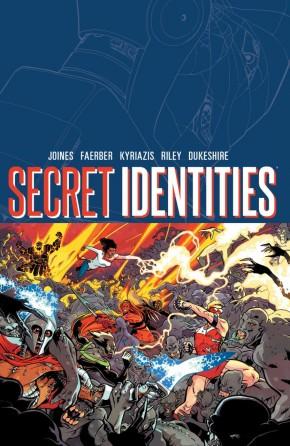 SECRET IDENTITIES VOLUME 1 GRAPHIC NOVEL