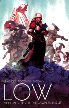LOW VOLUME 2 BEFORE THE DAWN BURNS US GRAPHIC NOVEL