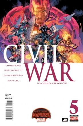 CIVIL WAR #5 (2015 SERIES)