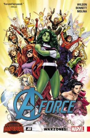 A-FORCE VOLUME 00 WARZONES GRAPHIC NOVEL