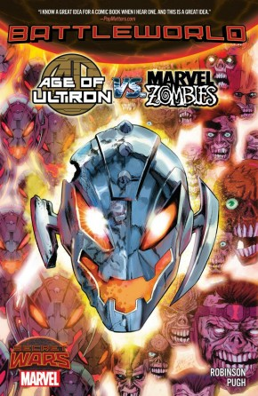 AGE OF ULTRON VS MARVEL ZOMBIES GRAPHIC NOVEL