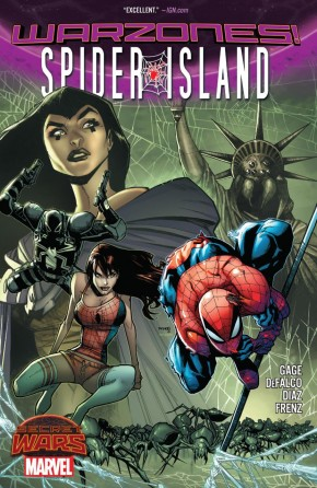 SPIDER-ISLAND WARZONES GRAPHIC NOVEL