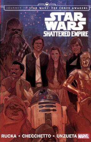 JOURNEY TO STAR WARS THE FORCE AWAKENS SHATTERED EMPIRE GRAPHIC NOVEL