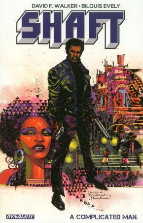 SHAFT COMPLICATED MAN GRAPHIC NOVEL