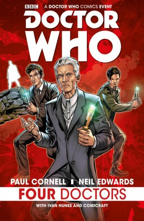 DOCTOR WHO 2015 FOUR DOCTORS HARDCOVER