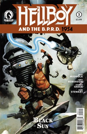HELLBOY AND BPRD 1954 #2 BLACK SUN