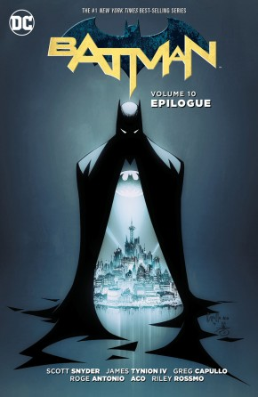 BATMAN VOLUME 10 EPILOGUE HARDCOVER