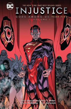 INJUSTICE GODS AMONG US YEAR FIVE VOLUME 1 HARDCOVER