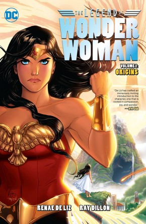 THE LEGEND OF WONDER WOMAN HARDCOVER
