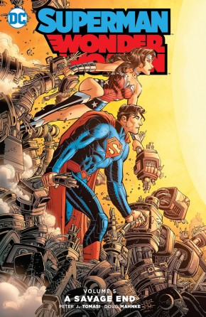 SUPERMAN WONDER WOMAN VOLUME 5 A SAVAGE END HARDCOVER