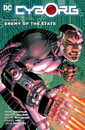CYBORG VOLUME 2 ENEMY OF THE STATE GRAPHIC NOVEL