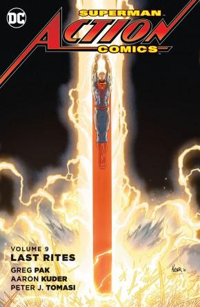 SUPERMAN ACTION COMICS VOLUME 9 LAST RITES HARDCOVER