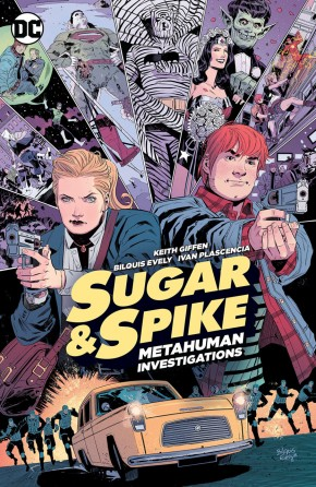 SUGAR AND SPIKE METAHUMAN INVESTIGATIONS GRAPHIC NOVEL