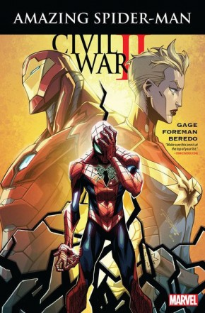 CIVIL WAR II AMAZING SPIDER-MAN GRAPHIC NOVEL