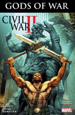 CIVIL WAR II GODS OF WAR GRAPHIC NOVEL