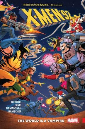 X-MEN 92 VOLUME 1 WORLD IS A VAMPIRE GRAPHIC NOVEL