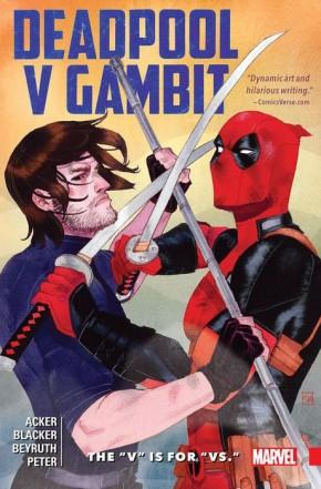 DEADPOOL V GAMBIT THE V IS FOR VS GRAPHIC NOVEL