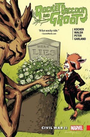 ROCKET RACCOON AND GROOT VOLUME 2 CIVIL WAR II GRAPHIC NOVEL