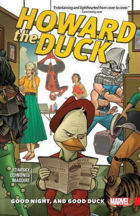 HOWARD THE DUCK VOLUME 2 GOOD NIGHT AND GOOD DUCK GRAPHIC NOVEL