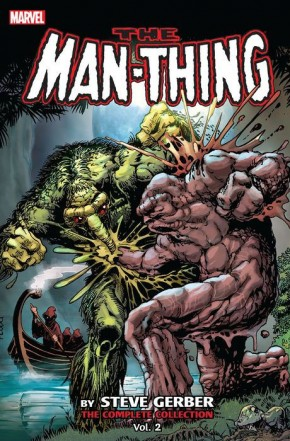 MAN-THING BY STEVE GERBER COMPLETE COLLECTION VOLUME 2 GRAPHIC NOVEL