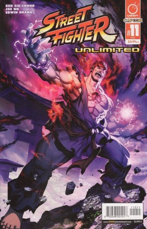 STREET FIGHTER UNLIMITED #11 COVER A