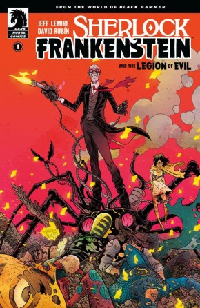 SHERLOCK FRANKENSTEIN AND THE LEGION OF EVIL #1