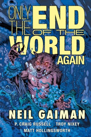 ONLY THE END OF THE WORLD AGAIN HARDCOVER