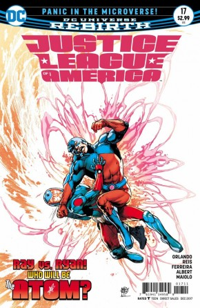 JUSTICE LEAGUE OF AMERICA #17 (2017 SERIES)