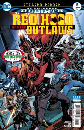 RED HOOD AND THE OUTLAWS #15 (2016 SERIES)