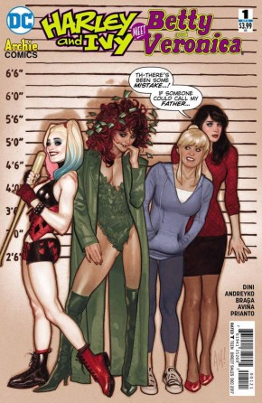 HARLEY AND IVY MEET BETTY AND VERONICA #1 VARIANT