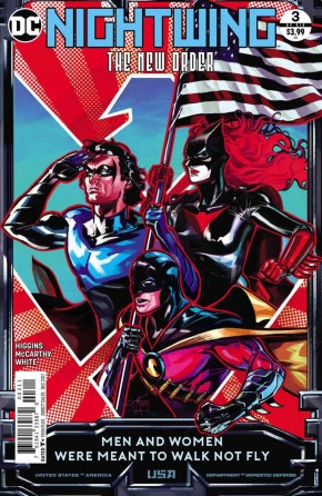 NIGHTWING THE NEW ORDER #3