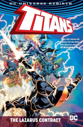 TITANS THE LAZARUS CONTRACT HARDCOVER