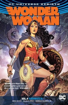 WONDER WOMAN VOLUME 4 GODWATCH GRAPHIC NOVEL