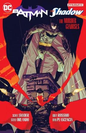 BATMAN THE SHADOW THE MURDER GENIUSES HARDCOVER