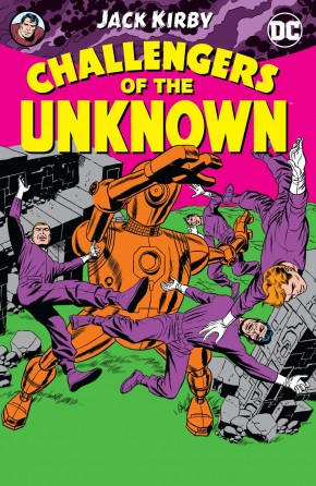 CHALLENGERS OF THE UNKNOWN BY JACK KIRBY GRAPHIC NOVEL