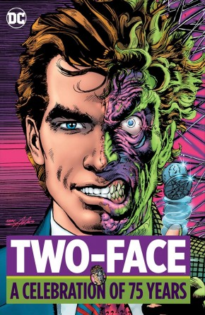 TWO-FACE A CELEBRATION OF 75 YEARS HARDCOVER
