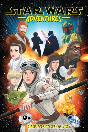STAR WARS ADVENTURES VOLUME 1 HEROES OF THE GALAXY GRAPHIC NOVEL