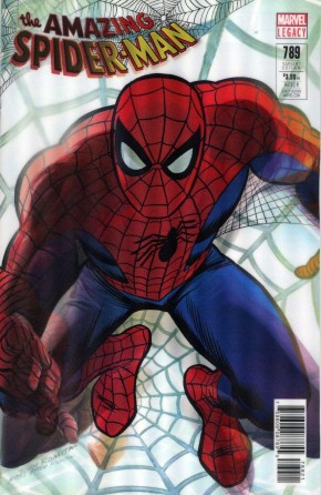 AMAZING SPIDER-MAN #789 (2015 SERIES) LEGACY ROSS LENTICULAR VARIANT
