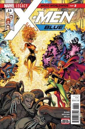 X-MEN BLUE #13 LEGACY