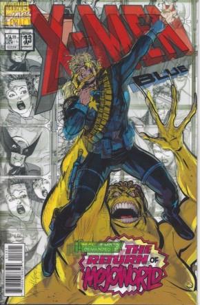X-MEN BLUE #13 LEGACY LOPEZ LENTICULAR VARIANT