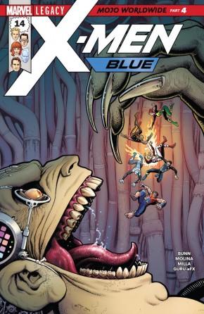 X-MEN BLUE #14 LEGACY