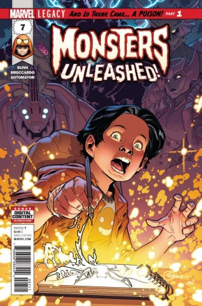 MONSTERS UNLEASHED #7 (2017 SERIES) LEGACY