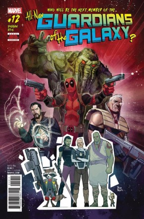ALL NEW GUARDIANS OF THE GALAXY #12