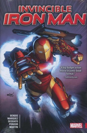 INVINCIBLE IRON MAN BY BRIAN MICHAEL BENDIS HARDCOVER