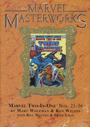 MARVEL MASTERWORKS MARVEL TWO IN ONE VOLUME 3 DM VARIANT #256 EDITION HARDCOVER